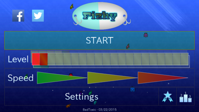 Screenshot from Fizhy