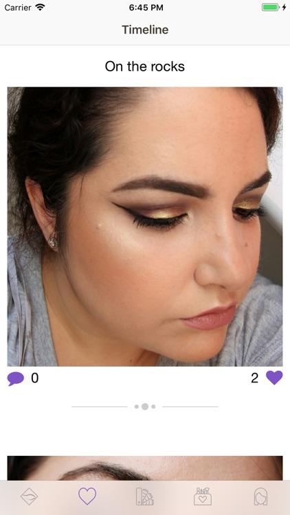 Facechart. Makeup & Looks screenshot-7