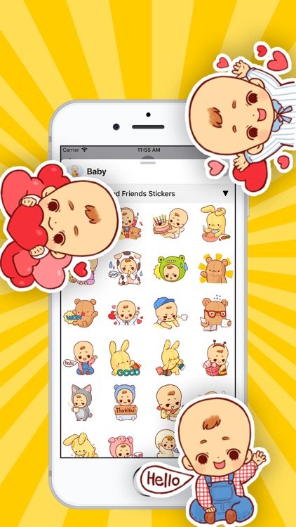 Baby Stickers • screenshot-1