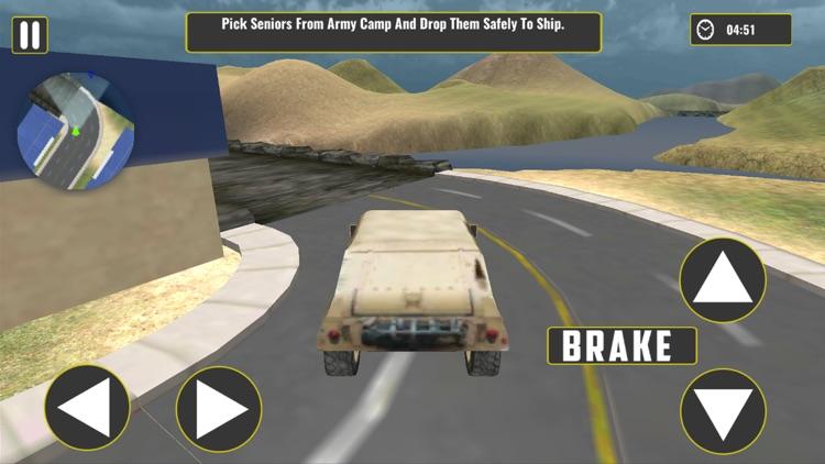 Offroad Army Truck – Cargo Ship & Flight Simulator screenshot-4