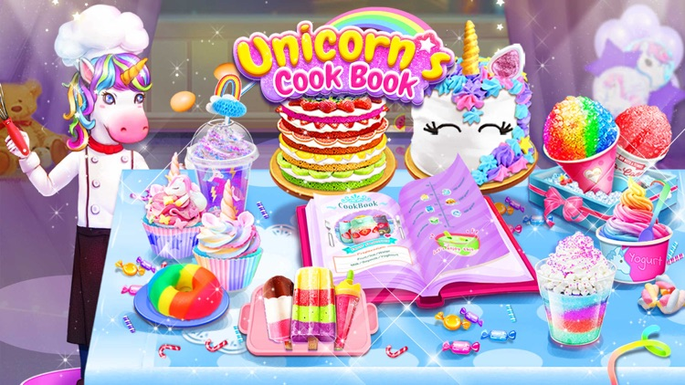 Rainbow Unicorn Cook Book screenshot-0