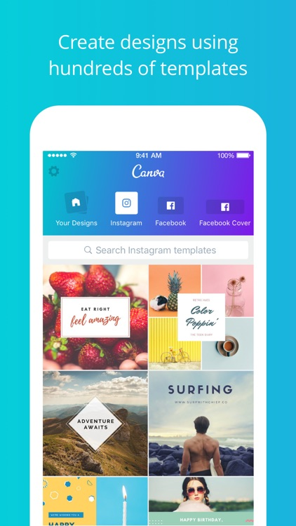 Canva - Photo Editor & Design screenshot-0