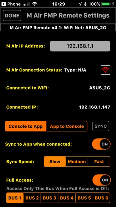 M Air FMP Remote screenshot 4