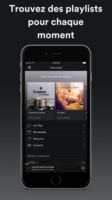 Spotify est disponible sur iPad-capture-3