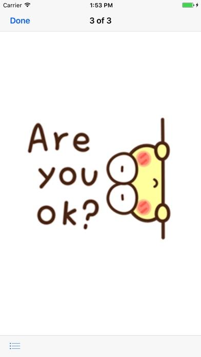 Very Cute Frog Emoji Sticker screenshot 3