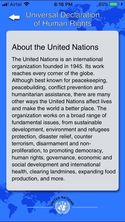 Declaration of Human Rights screenshot-4