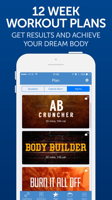 Fitness Buddy+: Gym Workouts app image