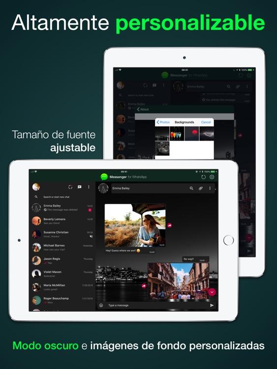 Messenger para WhatsApp by Gorilla Technologies