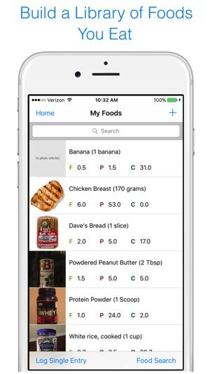 macrotrak macro tracker on the app store