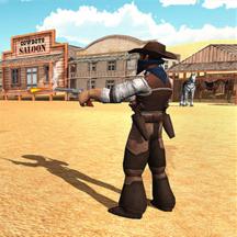 西部牛仔枪战 - 疯狂射击