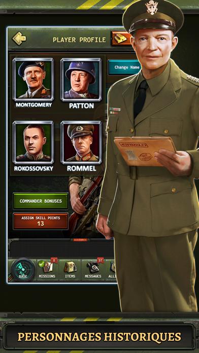 Screenshot #1 pour World at War: WW2 Strategy MMO