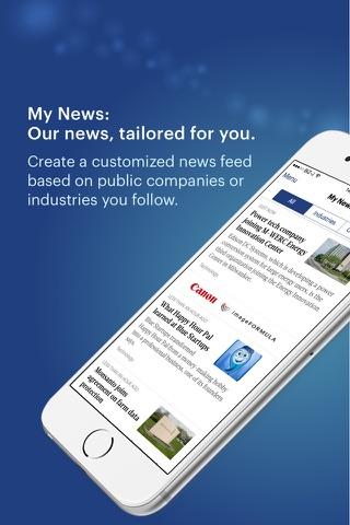 Screenshot of The Business Journals