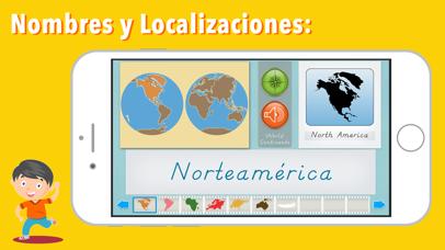 Continentes y Océanos screenshot 2