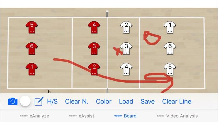 Volleyball Scout1 screenshot-3