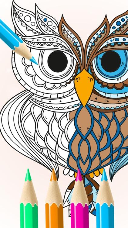 Animal Coloring Pages Art Book screenshot-5