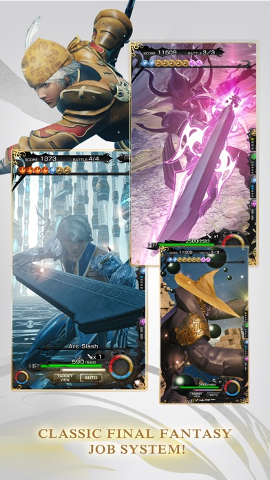 MOBIUS FINAL FANTASY Screenshots