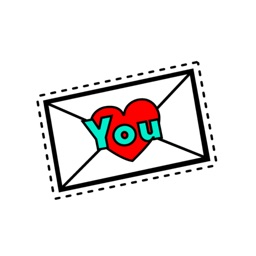 Love messages - cute stickers