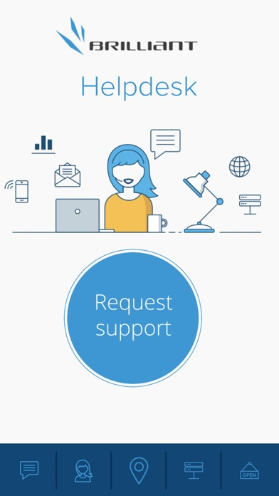 Brilliant Helpdesk app image