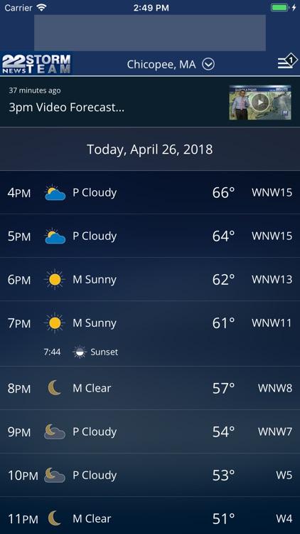 WWLP Weather screenshot-4