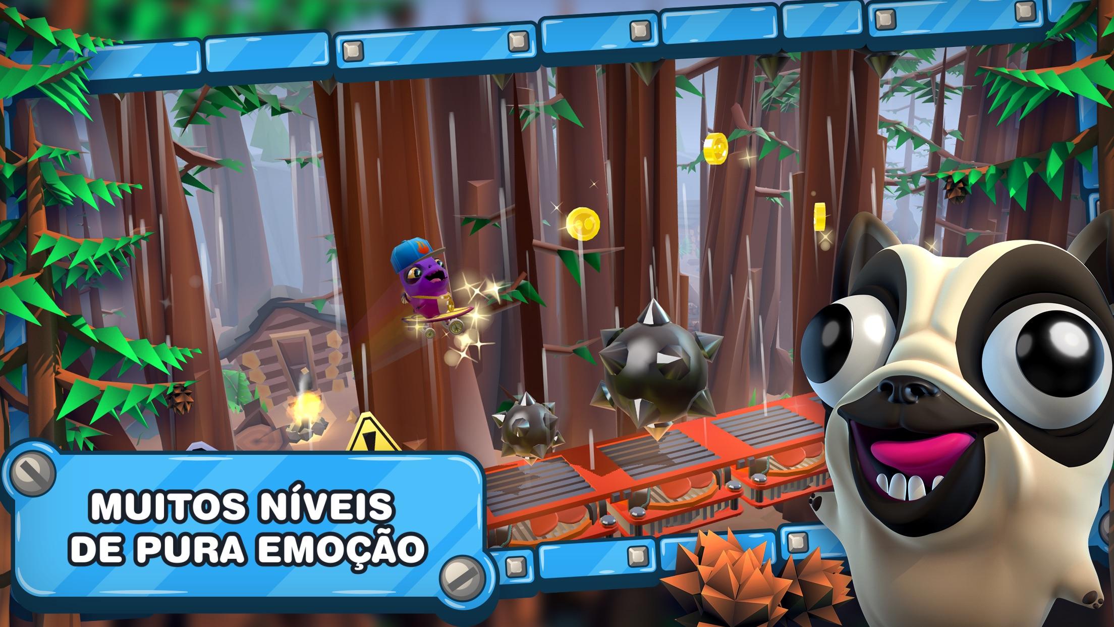 Screenshot do app Bacon Escape 2