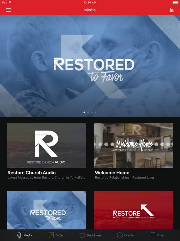 Restore Church, Inc. screenshot 4