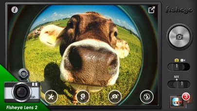 Fisheye Pro - LOMO Lens Camera Screenshots