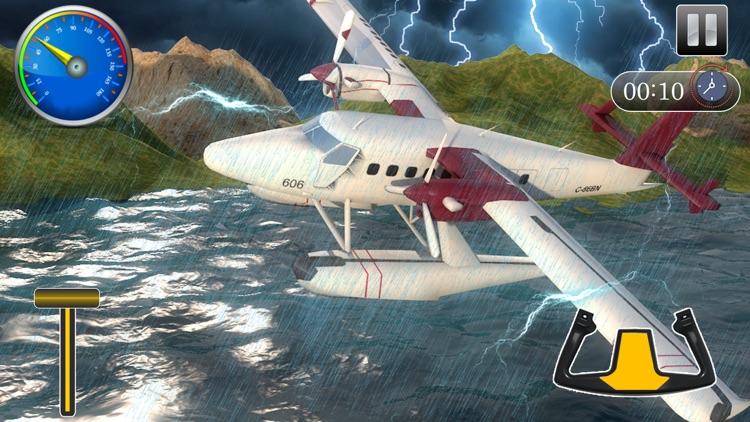 Flying Sea-Plane Games 2018 screenshot-3