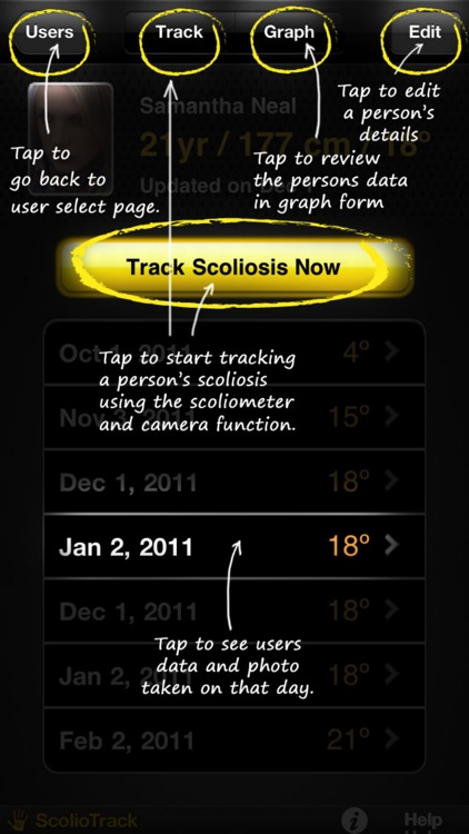 ScolioTrack screenshot-2