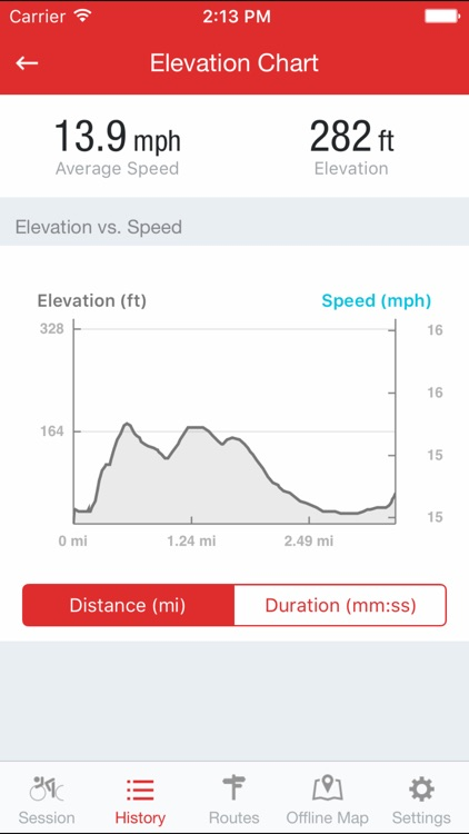 Runtastic Road Bike GPS screenshot-3