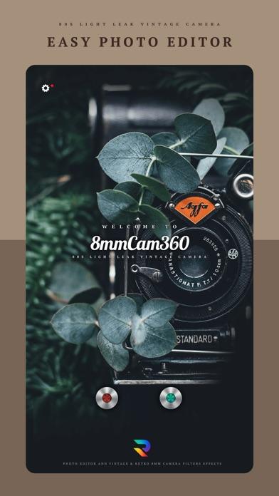 8mm Cam 360 - Foto-EditorScreenshot von 1