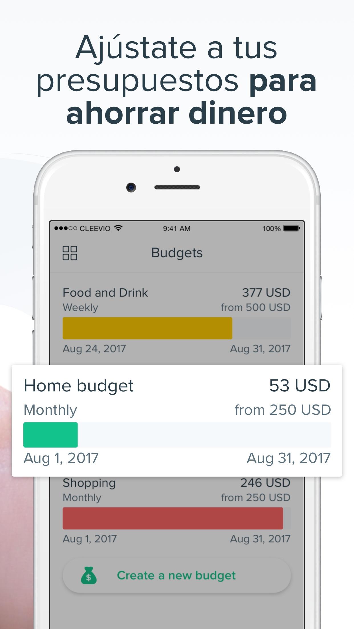 Spendee: Family budget tracker Screenshot