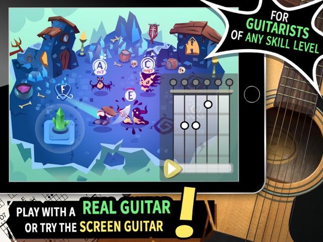 Slashy Chords: Guitar Warriors on the App Store