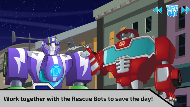 Transformers Rescue Bots screenshot-3