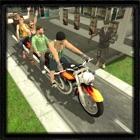 bus bicicleta rescate conducci icon