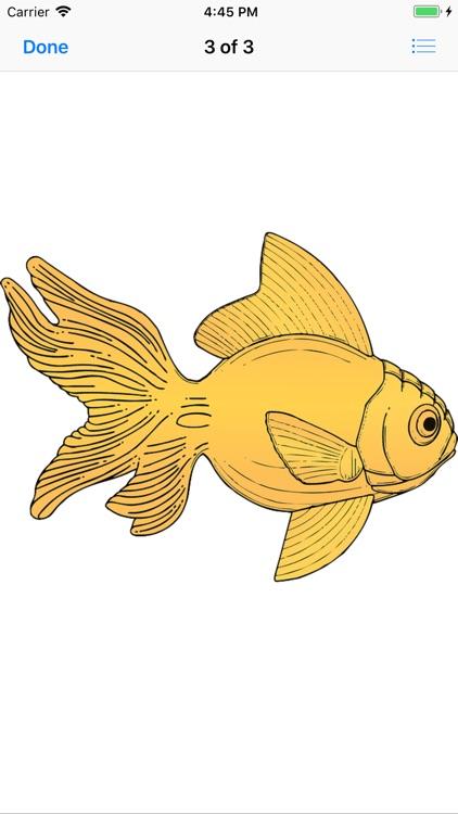 Glorious Goldfish Stickers screenshot-4