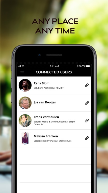 Cuppa - The Network App screenshot-3