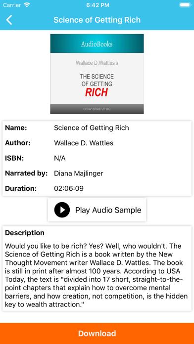 AudioBooks: Best of AudioBooks screenshot two