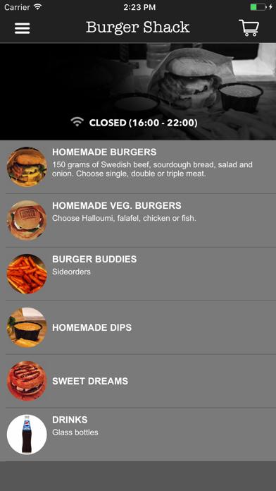 Burger Shack Screenshot