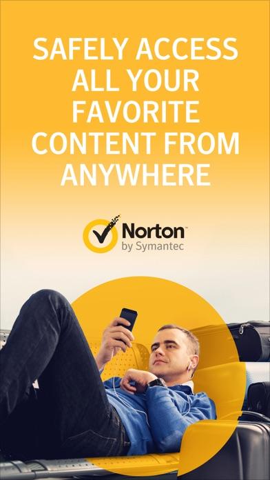 Norton WiFi Privacy VPN iPhone