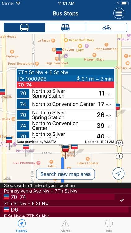 DC Mass Transit • metro + bus screenshot-4