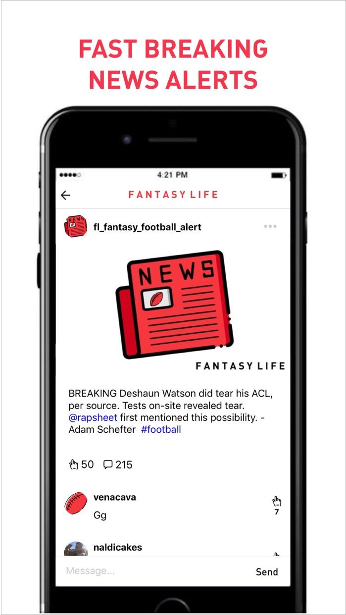 Fantasy Life Sports Community Screenshot