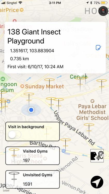 PokeGymSG screenshot-0