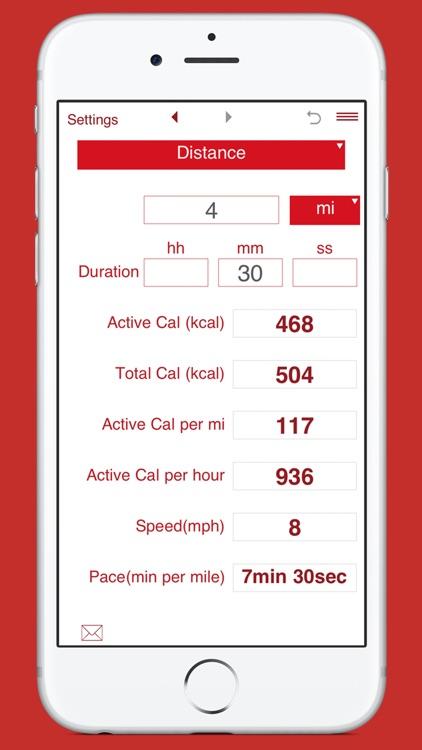 Calories Burned Running screenshot-3