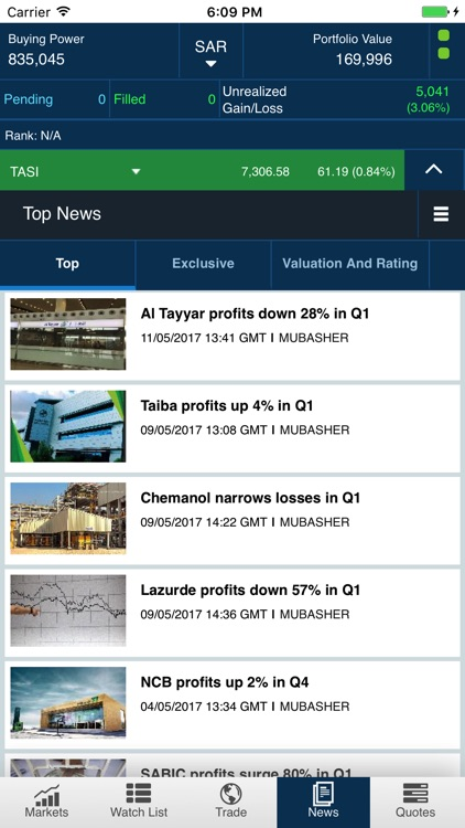 Tadawul Trading Simulator screenshot-4