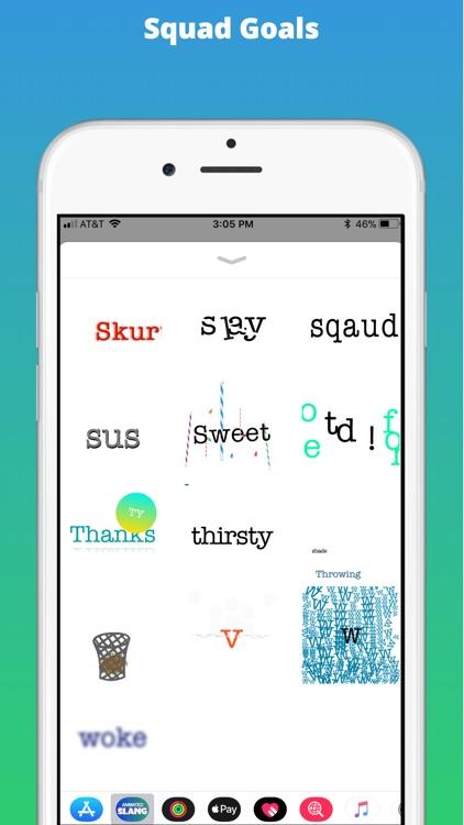 Animated Slang Stickers screenshot-3