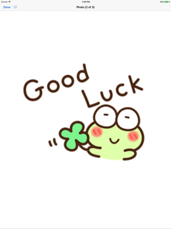 Very Cute Frog Emoji Sticker screenshot 8