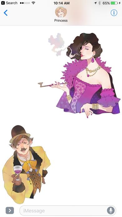 Dorian Gray Sticker Screenshot