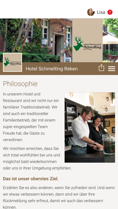 Hotel Schmelting Reken screenshot 1