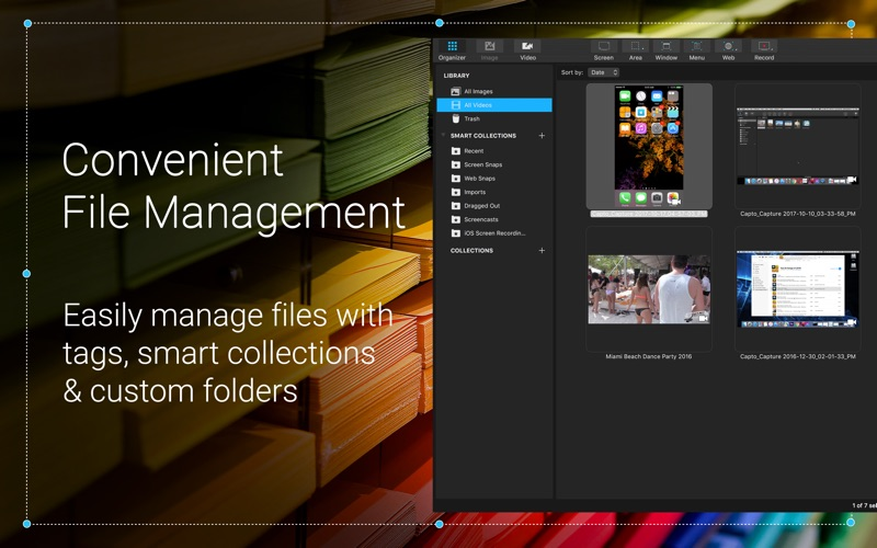 Capto: Screen Capture & Record Screenshots