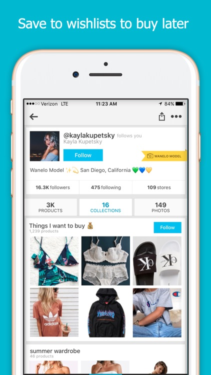 Wanelo - Fashion & Beauty